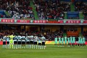 Les joueurs de la Belgique et du Portugal... (Photo Steven Governo, AP) - image 3.0