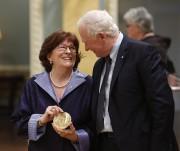 Louise Arbour a reçu la médaille Pearsonpour la... (PHOTO PC) - image 2.0