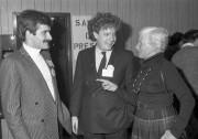 Jean Lapierre en 1985, en compagnie de Jean... (Archives La Presse) - image 2.0