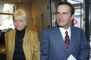 Jean Lapierre avec sa femme Nicole Beaulieu, en... (Photothèque Le Soleil) - image 1.0