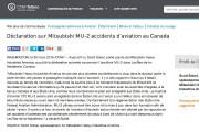 Mitsubishi a publié un communiqué, mercredi, pour exprimer... (Tirée de www.newswire.ca) - image 5.0