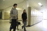 On voit ici Dominic Pollender avec son chien... (Janick Marois, La Voix de l'Est) - image 3.0