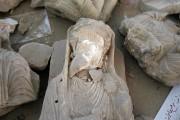 Des statues typiques de l'art palmyrien, comme les... (PHOTO JOSEPH EID, AFP) - image 2.0