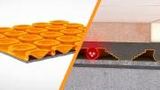 Le mince isolant thermique sur la surface intérieur... (Schluter®) - image 1.0