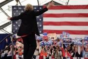Hillary Clinton était en campagne à Syracuse, dans... (Mike Groll, AP) - image 2.0