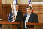 Le maire Tory a reçu de Denis Coderre... (PHOTO ROBERT SKINNER, LA PRESSE) - image 1.0