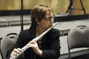Aline Guérin, flûtiste.... (Photo Le Quotidien, Mariane L. St-Gelais) - image 1.1