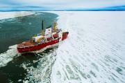 Le brise-glace NGCC Des Groseilliers, ici en patrouille... (PHOTO Martin Tremblay, Archives La Presse) - image 1.1