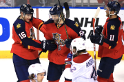 Aleksander Barkov, Jaromir Jagr et Jonathan Huberdeau forment... (Photo Robert Mayer, USA Today) - image 3.0