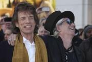 Mick Jagger et Keith Richards à leur arrivée... (AP, Joel Ryan) - image 2.0