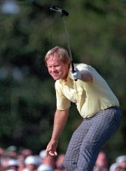 Jack Nicklaus lors de sa victoire au Tournoi... (Photo Joe Benton, Archives Associated Press) - image 3.0