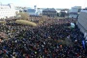 22 000 personnes ont manifesté samedi àReykjavik.... (PHOTO REUTERS) - image 2.0