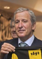 L'Uruguayen Juan Pedro Damiani,membre du comité d'éthique del'UEFA,a... (AFP, Pablo Bielli) - image 2.0
