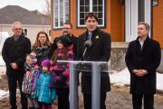 Justin Trudeau et le député de Saint-Maurice-Champlain, François-Philippe... (François Gervais, Le Nouvelliste) - image 3.0