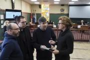 Des membres du comité Robinson, Ghyslain Vallières, Marc-André... (Alain Dion, La Voix de l'Est) - image 1.0