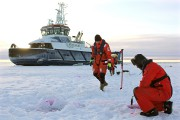 En guise de test par -15°C, des ingénieurs... (PHOTO SAM KINGSLEY, AFP) - image 2.0