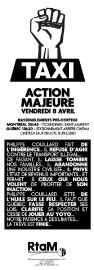 Aéroports de Montréal a obtenu une injonction contre... (IMAGE FOURNIE PAR LE Regroupement des travailleurs autonomes Métallos) - image 1.0