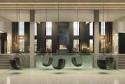 À l'étage, le spa comportera diverses aires de... (ILLUSTRATION FOURNIE PAR RACHEL JULIEN) - image 5.0