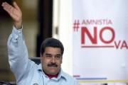 Le président du Venezuela Nicolas Maduro... (Archives AFP, Juan Barreto) - image 13.0