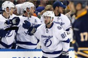 Nikita Kucherov (86) était absent de l'entraînement matinal.... (PHOTO KEVIN HOFFMAN, ARCHIVES USA TODAY) - image 2.0