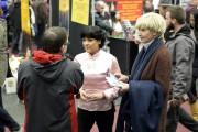 La candidate caquiste de Chicoutimi, Hélène Girard, était... (Photo Le Progrès-Dimanche, Jeannot Lévesque) - image 4.0