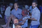 Les personnes blessées par l'explosion souffrent de brûlures... (AFP) - image 2.0