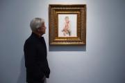 Le tableau de l'artisteIllma Gorereprésentant Donald Trump est... (PHOTO AFP) - image 2.0