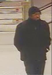 Le suspect recherché... (Photo fournie par le SPVM) - image 1.1