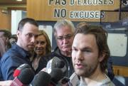 David Desharnais considère qu'il est à sa place... (La Presse Canadienne, Paul Chiasson) - image 3.0
