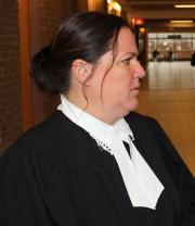 L'avocate de la défense Me Stéphanie Côté... (La Tribune, René-Charles Quirion) - image 1.0