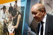 Le ministre français de la Défense Jean-Yves Le... (PHOTO SAFIN HAMED, AFP) - image 1.0
