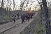 Une vidéo amateur diffusée par la télévision bulgare montre trois... (AFP) - image 2.0