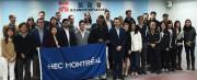Les étudiants du MBA de HEC Montréal au... (Photo fournie par HEC Montréal) - image 1.1