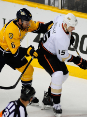 Shea Weber et Ryan Getzlaf... (Photo Mike Strasinger, archives USA Today) - image 4.0