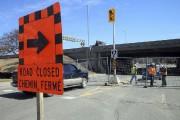 La rue Elgin est complètement fermée entre les... (Étienne Ranger, LeDroit) - image 3.0