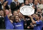 Le coéquipiers de Chelsea Didier Drogba,John Terry etFrank... (ARCHIVES AP) - image 2.0