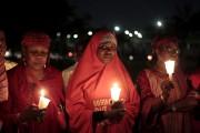 Des veillées de prière se sont tenues mercredi... (PHOTO REUTERS) - image 1.0
