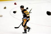 Patric Hornqvist a marqué trois buts mercredi soir.... (Associated Press) - image 2.0