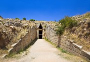 L'entrée du trésor d'Atrée (aussi appelé tombe d'Agamemnon)... (PHOTO THINKSTOCK) - image 4.0
