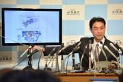 Un officier de l'Agence de météorologie japonaise, Gen... (PHOTO KAZUHIRO NOGI, AFP) - image 3.1
