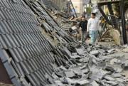 Les séismes ont fait beaucoup de dégâts... (AP, Ryosuke Uematsu) - image 2.0
