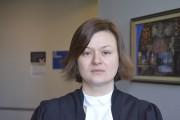Julie Villeneuve a déposé des arrêts de la... (Photo Le Quotidien, Louis Potvin) - image 1.0