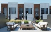 Des terrasses seront aménagées à l'arrière des maisons.... (ILLUSTRATION FOURNIE PAR DUPIN + DESPRÉS) - image 2.0