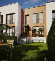 Les maisons en rangée du Parc aux Tilleuls... (ILLUSTRATION FOURNIE PAR DUPIN + DESPRÉS) - image 3.0