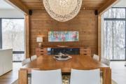 La salle à manger et la cuisine font... (PHOTO MICHAEL GLICKSMAN, FOURNIE PAR PROFUSION IMMOBILIER) - image 1.0