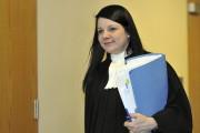 L'avocate de Valérie Duchesne, Me Justine Guay-Langevin... (Le Quotidien, Rocket Lavoie) - image 1.0