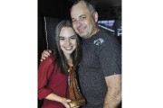 La complicité entre Émilie Émond et son père,... (Progrès-dimanche, Rocket Lavoie) - image 2.0