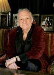 Hugh Hefner (ici en 2006)... (AP, Kevork Djansezian) - image 4.0