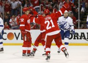 Le centre recrue des Red Wings de Detroit... (AP, Paul Sancya) - image 3.0