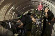 Des membres des Brigades Ezzedine al-Qassam, la branche... (PHOTO MOHAMMED SALEM, ARCHIVES REUTERS) - image 2.0